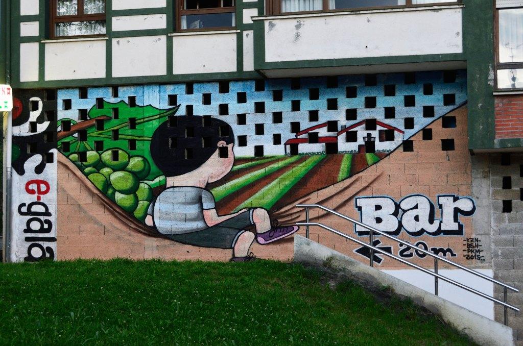 Arte urbano en Gautéguiz Arteaga