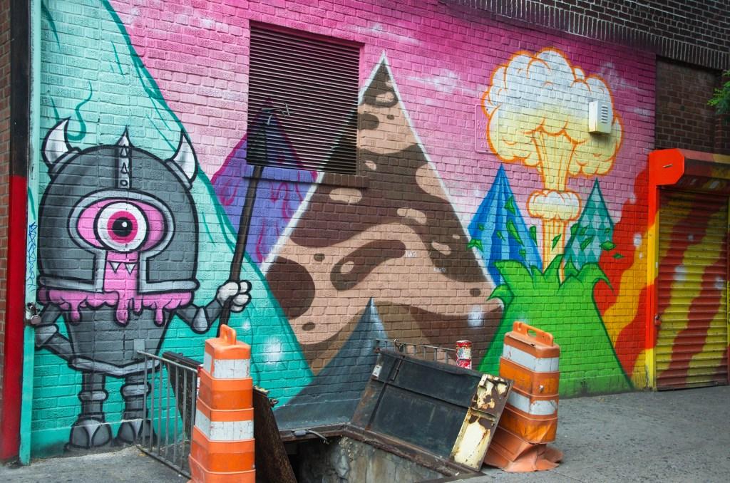 arte urbano Buff Monster New York