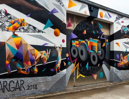 Arte urbano Penelles Tim Marsh