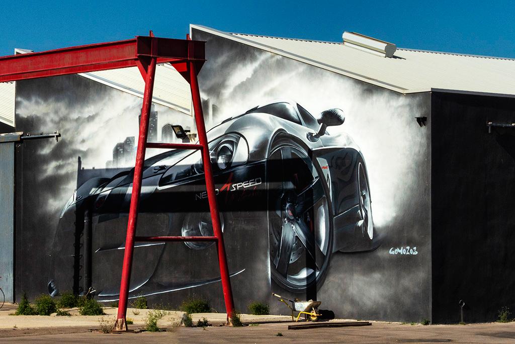 Arte Urbano Jorge Pina, Murcia