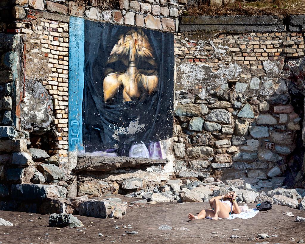 arte urbano Sopelana Pais Vasco