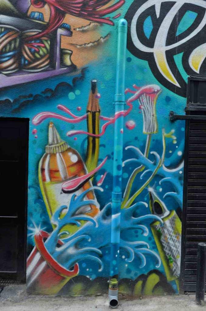 Arte urbano en Olabeaga, Bilbao