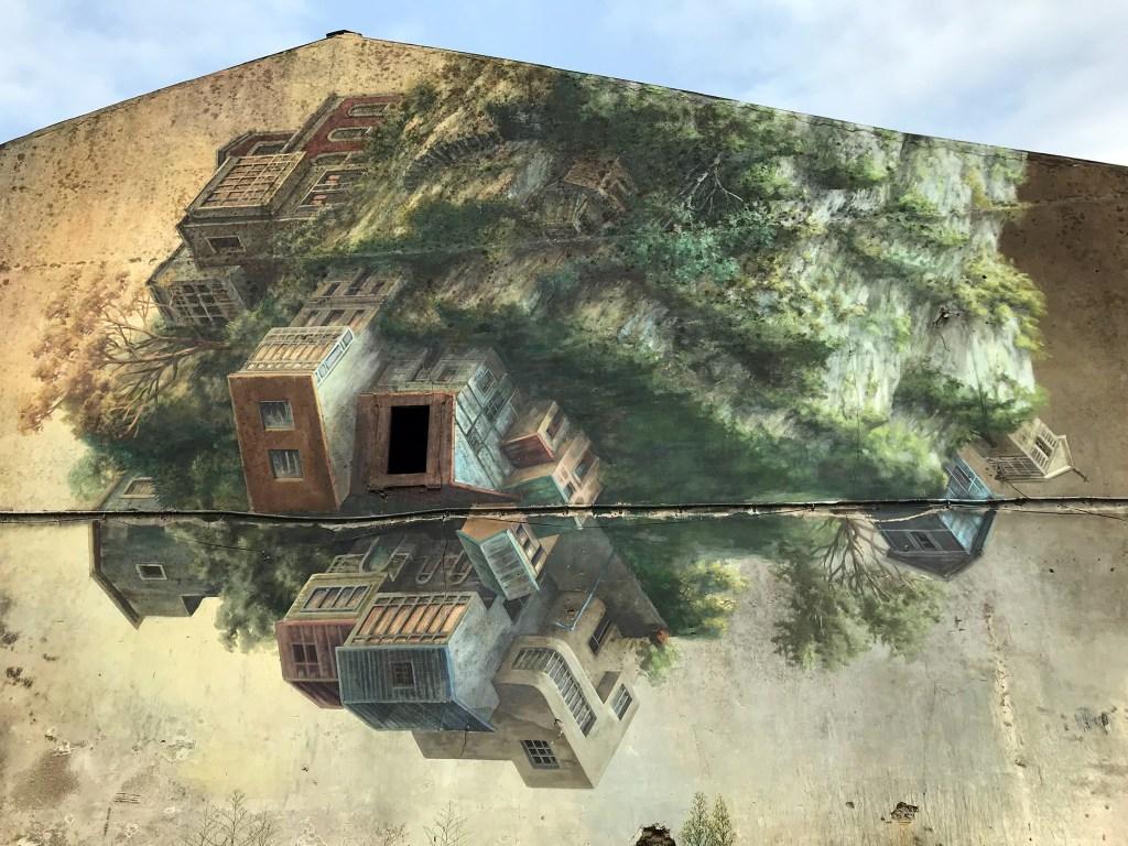 arte urbano cinta vidal carballo, galicia