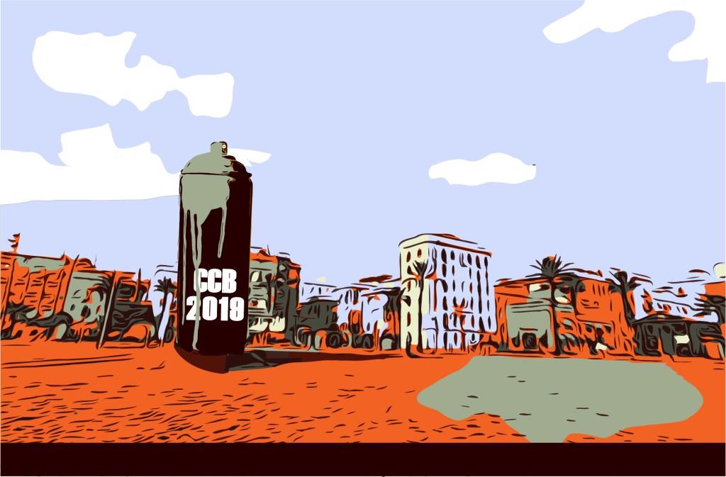 arte urbano exposición Barceloneta