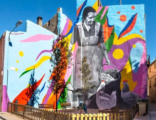 Arte urbano Oriol Arumí, Lleida