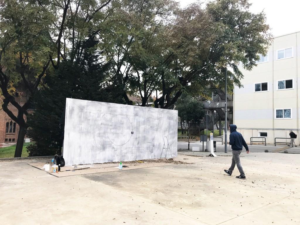 Arte Urbano Sebastien Waknine - Refugiados
