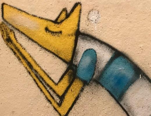 Arte urbano de Selor en Montpellier