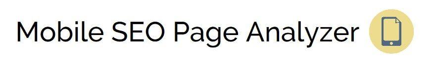 Mobile-SEO-Page-Analyzer