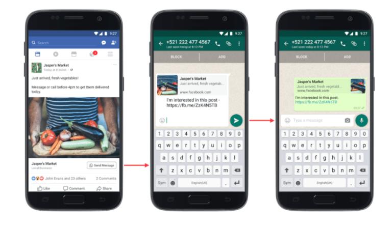 así funciona la publicidad de facebook ads con whatsapp