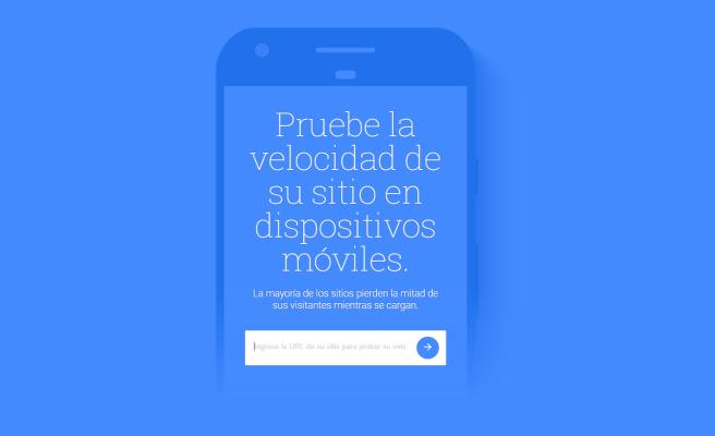 pruebe la velocidad de su sitio web para móviles