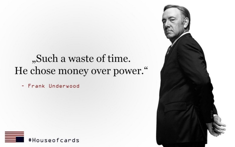 The Entrepreneurial Lessons I Learned From Binge Watching House Of Cards