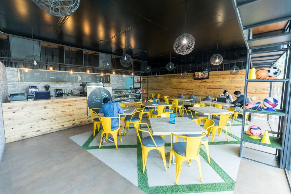 cafes in gurgaon dribble