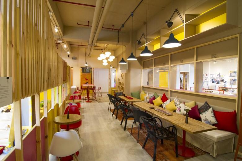 coworking spaces in delhi myHQ Monkey Business