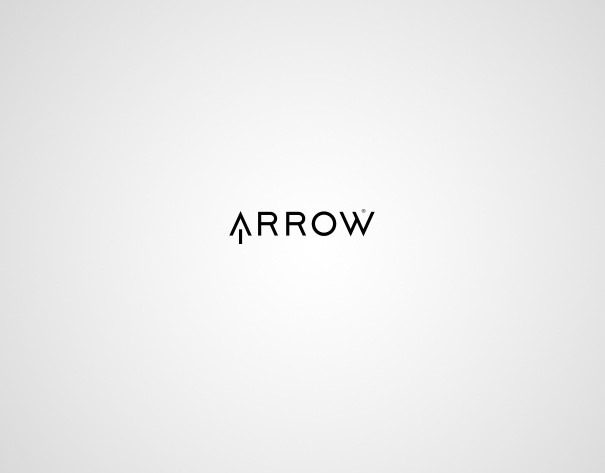 logo design myhq arrow