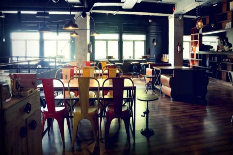 coworking spaces in delhi myHQ Social