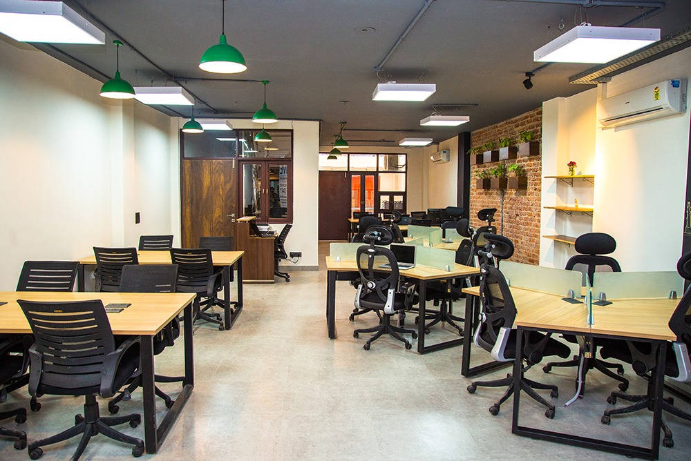 coworking spaces in south delhi myHQ
