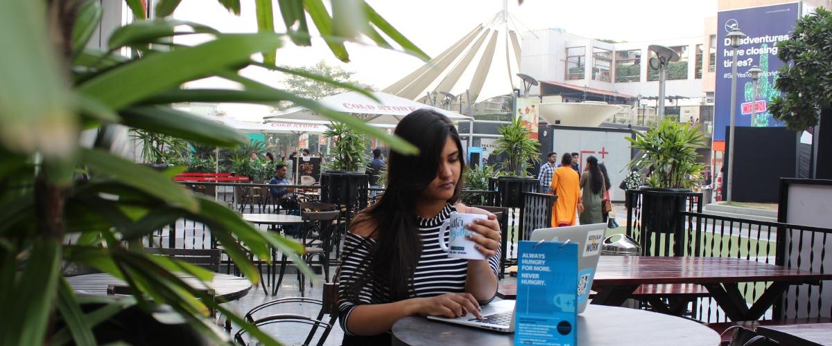 cafe with wifi myHQ Potbelly Sandwich