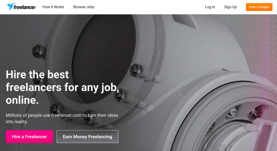 freelance platform - Freelancer.com