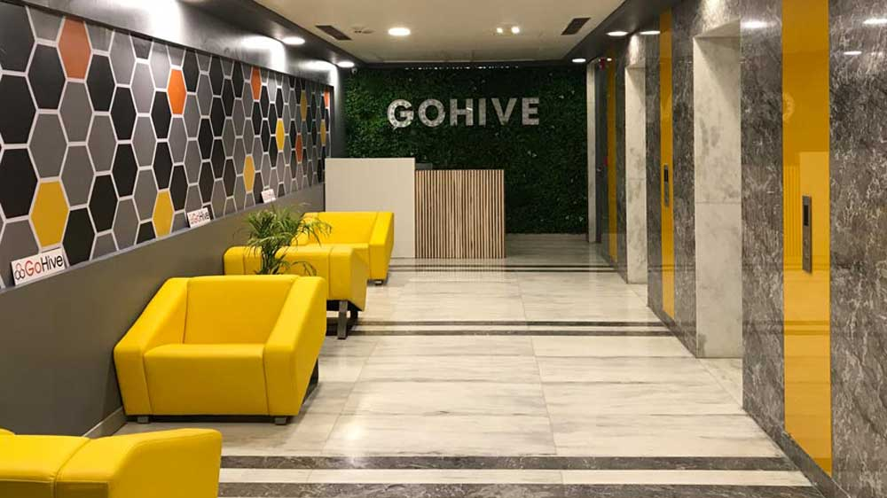 Shared office space in Delhi NCR - GoHive