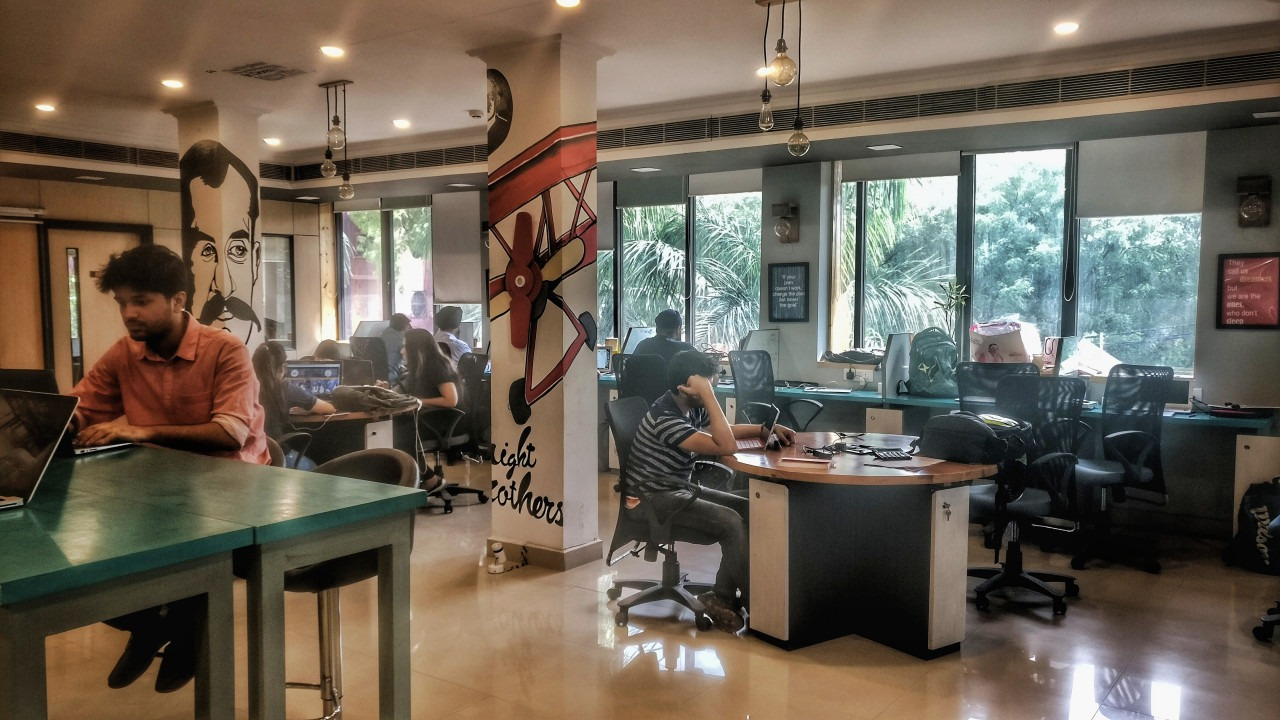 Shared office space in Delhi NCR - SpringHouse