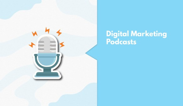 digital marketing podcast - myHQ cover