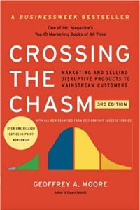 best product management books - crossing the chasm