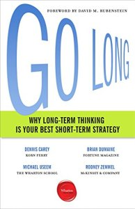 business strategy books - go long