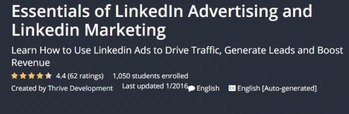 Online course on LinkedIn Marketing