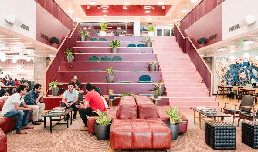 Wework coworking in Bangalore