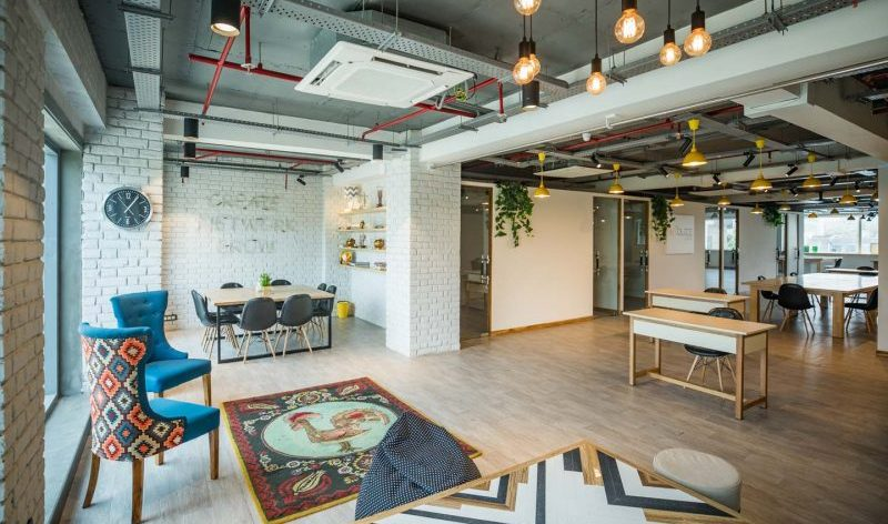 myHQ: ArtBuzz Studios coworking space in Mohan Estate