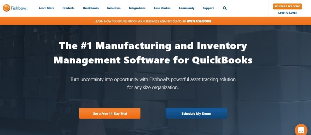inventory management software- fishbowl