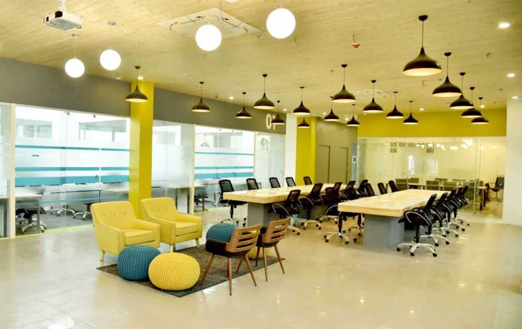 Spring House coworking space in Lucknow