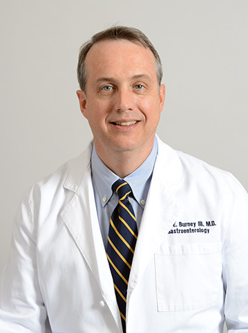 Gastroenterologist Dr. John Burney
