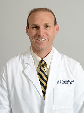 Gastroenterologist Dr. Rudolph