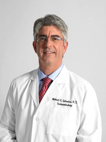 Gastroenterologist Dr. Michael Galambos