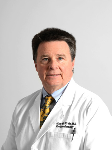 Gastroenterologist Dr. William Strain