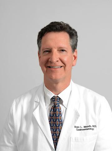 Gastroenterologist Dr. Bryan Woods