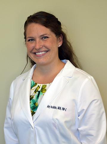 Nurse Practitioner Mary Hochkins