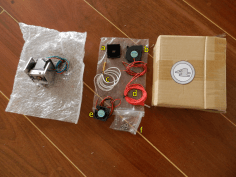 4: Extruder (with motor) and coolers.