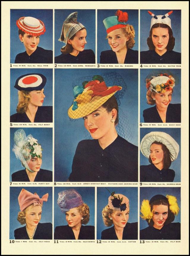 make monday 1940s fashion