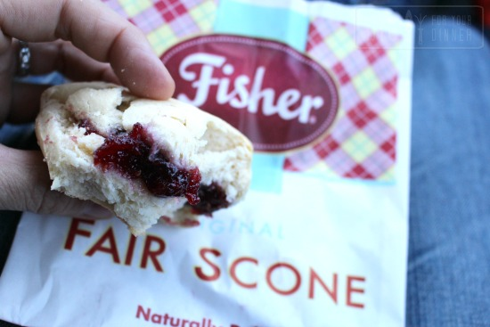puyallup fair fisher scone