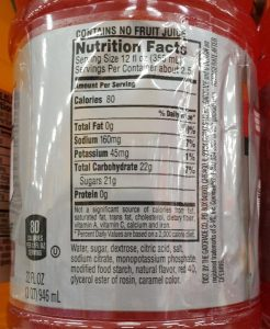 32 Oz Gatorade Nutrition Facts : gatorade, nutrition, facts, FitBuster:, Gatorade