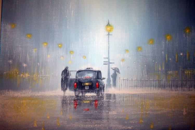 jeff-rowland-car-rain-lights-lights-lights-people-umbrella