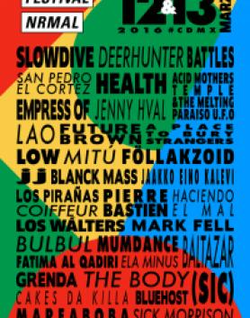 festival-nrmal-2016-line-up-cartel-completo