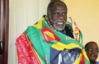 Former Defense Mininster George Mpombo: File picture