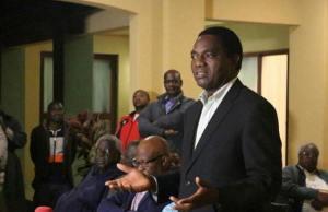 Hichilema briefing