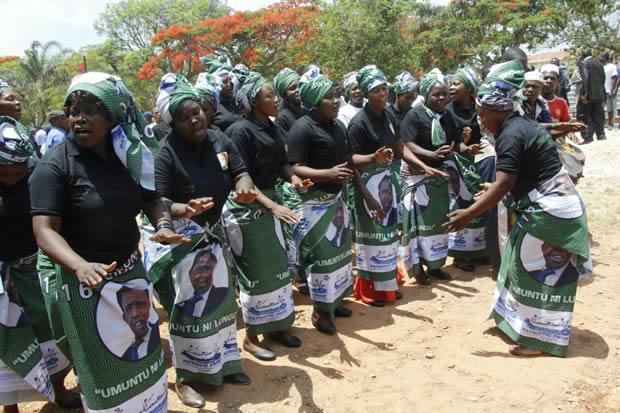 PF women choir in Lusaka-Picture by Tenson Mkhala
