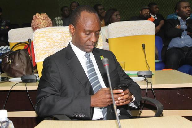 Mulenga Sata at Mulungushi International Conference Center in Lusaka-Picture by Tenson Mkhala