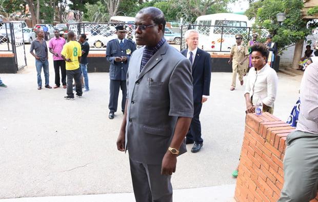 Former Justice Minister Ngosa Simbyakula