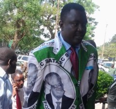 PF Lusaka youth chairperson Kennedy Kamba: File Picture